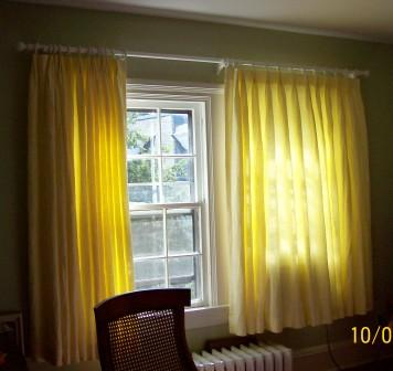 Yellow Sheer Curtains Curtains Blinds